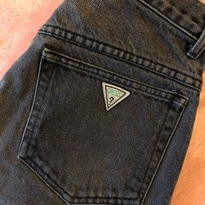 GUESS VINTAGE HIGH WAIST MOM JEAN GEORGES MARCIANO